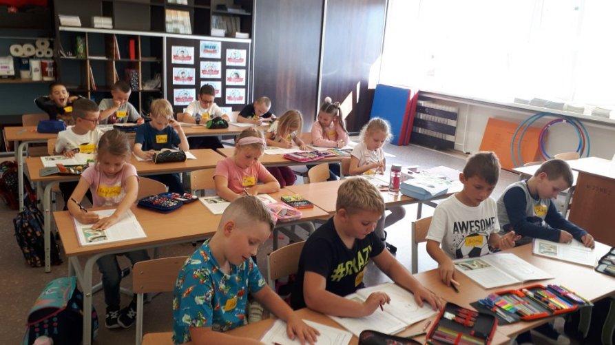 Pierwsze szkolne dni za nami!